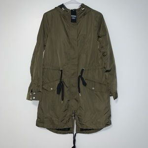 Miss Lili Green Anorak Jacket